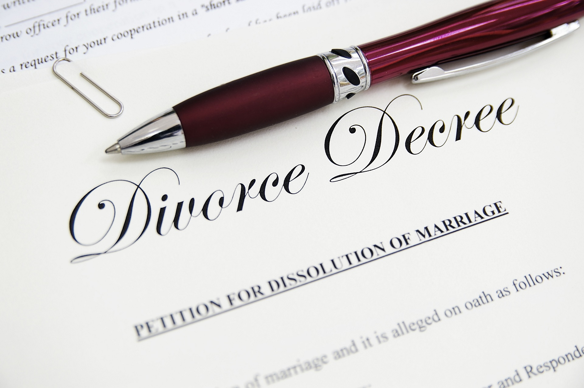 final decree of divorce in Austin Texas